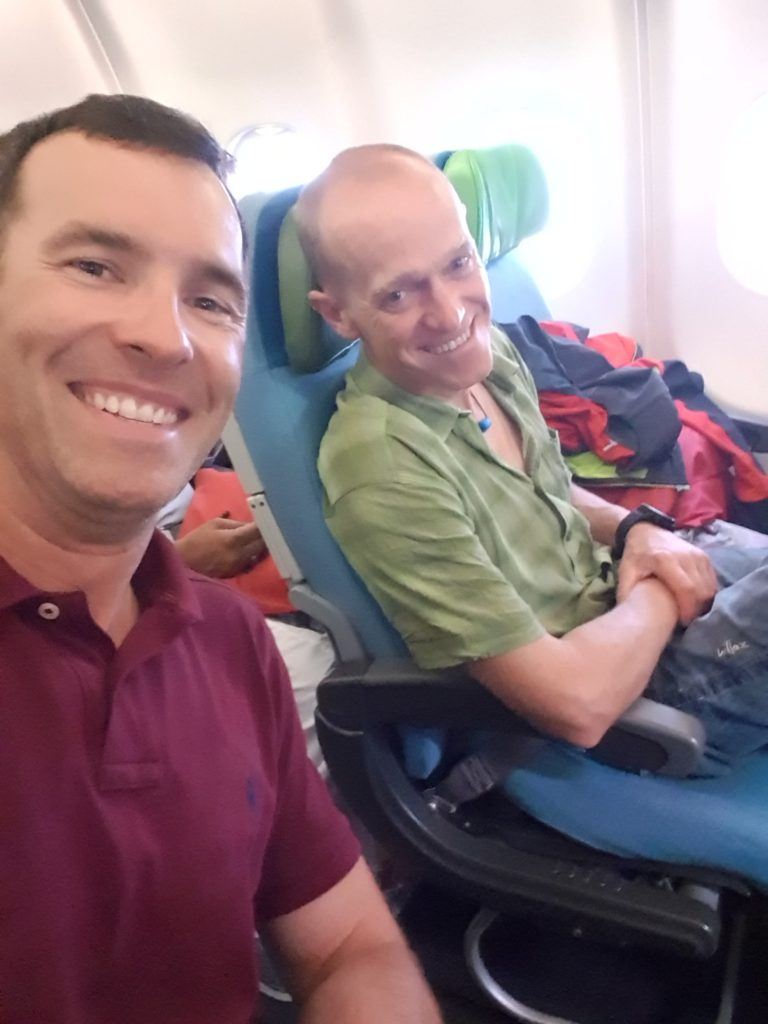 Max und Eduard auf dem Weg nach Islamabad