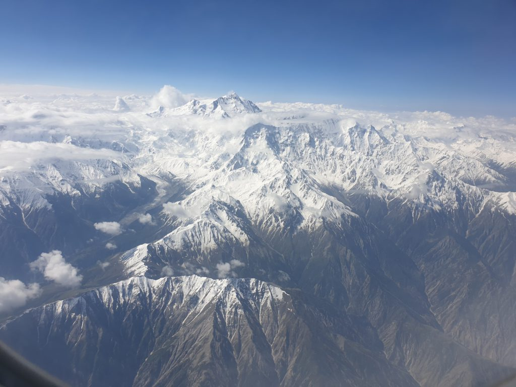 Nanga Parbat from the air